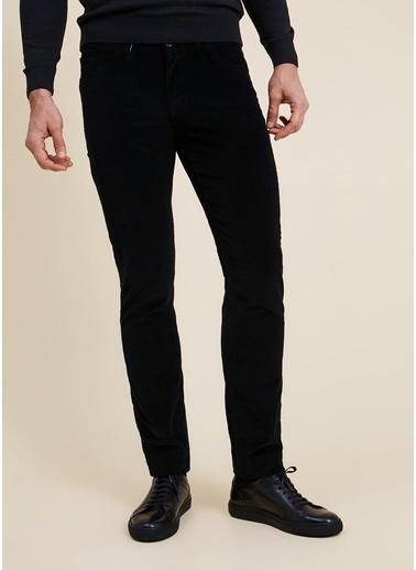 Bisse PNS20K20205 Regular Fit 5 Cep Kadife Pantolon Siyah